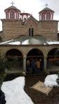 Εκπαιδευτική εκδρομή με επιτόπου διδασκαλία στην Ιερά Μονή Κορώνης του Νομού Καρδίτσης, στο πλαίσιο του μαθήματος «Ιστορία Αρχιτεκτονικής» με υπεύθυνη καθηγήτρια την Δρ Αφροδίτη Πασαλή, 2017. (©)