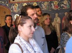 Εκπαιδευτική εκδρομή με επιτόπου διδασκαλία στα Μετέωρα, στο πλαίσιο των μαθημάτων «Χριστιανική Τέχνη» (Καθηγητής: Δρ. Ι. Βλαχοστέργιος), «Αποκατάσταση Ιστορικών Κτιρίων (Καθηγήτρια: Δρ. Α. Πασαλή) και «Επανάχρηση Ιστορικών Κτιρίων (Καθηγητής Ν. Σαμαράς), 28-5-2016. (© Α. Πασαλή).
