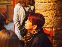 Εκπαιδευτική επίσκεψη με επιτόπου διδασκαλία στον Άγιο Γεώργιο Ριζαριού Τρικάλων, στο πλαίσιο του μαθήματος «Ιστορία Αρχιτεκτονικής» με καθηγήτρια την Δρ. Αφροδίτη Πασαλή, 20-11-2015 (© Α. Μωυσιάδης).