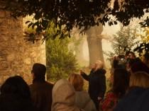 Εκπαιδευτική επίσκεψη με επιτόπου διδασκαλία στον Άγιο Γεώργιο Ριζαριού Τρικάλων, στο πλαίσιο του μαθήματος «Ιστορία Αρχιτεκτονικής» με υπεύθυνη καθηγήτρια την Δρ Αφροδίτη Πασαλή, Δεκέμβριος 2016. (© Α. Μωυσιάδης)