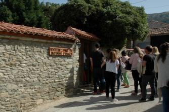 Εκπαιδευτικό σεμινάριο στο Μουσείο Θεσσαλικής Ζωής στην Ελάτεια Λάρισας. Εισηγητής: Κωνσταντίνος Συρμακέζης, Δρ Πολιτικός Μηχανικός, Ομότιμος Καθηγητής Εθνικού Μετσοβίου Πολυτεχνείου (© Ν. Σαμαράς).