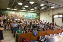 """Δευτέρα 24-7-2017. Ορκωμοσία των μεταπτυχιακών φοιτητών του Α κύκλου του Προγράμματος Μεταπτυχιακών Σπουδών """"Αρχιτεκτονική & Δομοστατική Αποκατάσταση Ιστορικών Κτιρίων & Συνόλων"""" (ΠΜΣ - ΑΔΟΑΠ) του Τμήματος Πολιτικών Μηχανικών Τ.Ε. (Τρίκαλα) του ΤΕΙ Θεσσαλίας!! (© Μ. Βάσκου)."""
